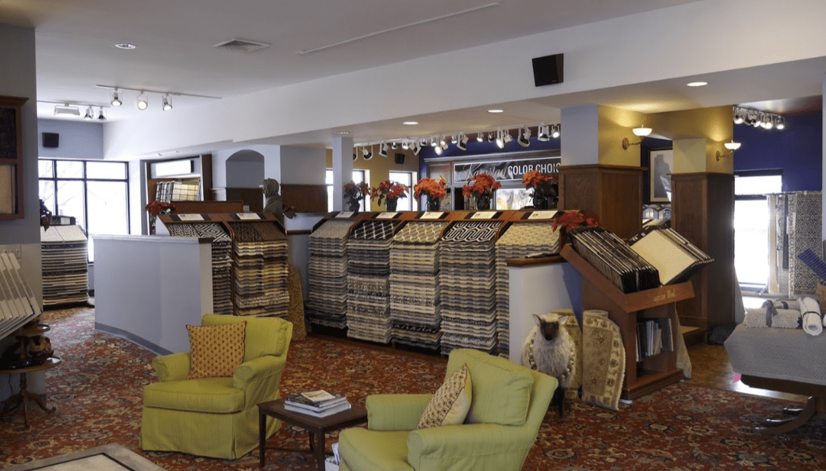 Carpet flooring in Naperville,  IL from the Russell Martin Carpet & Rugs showroom