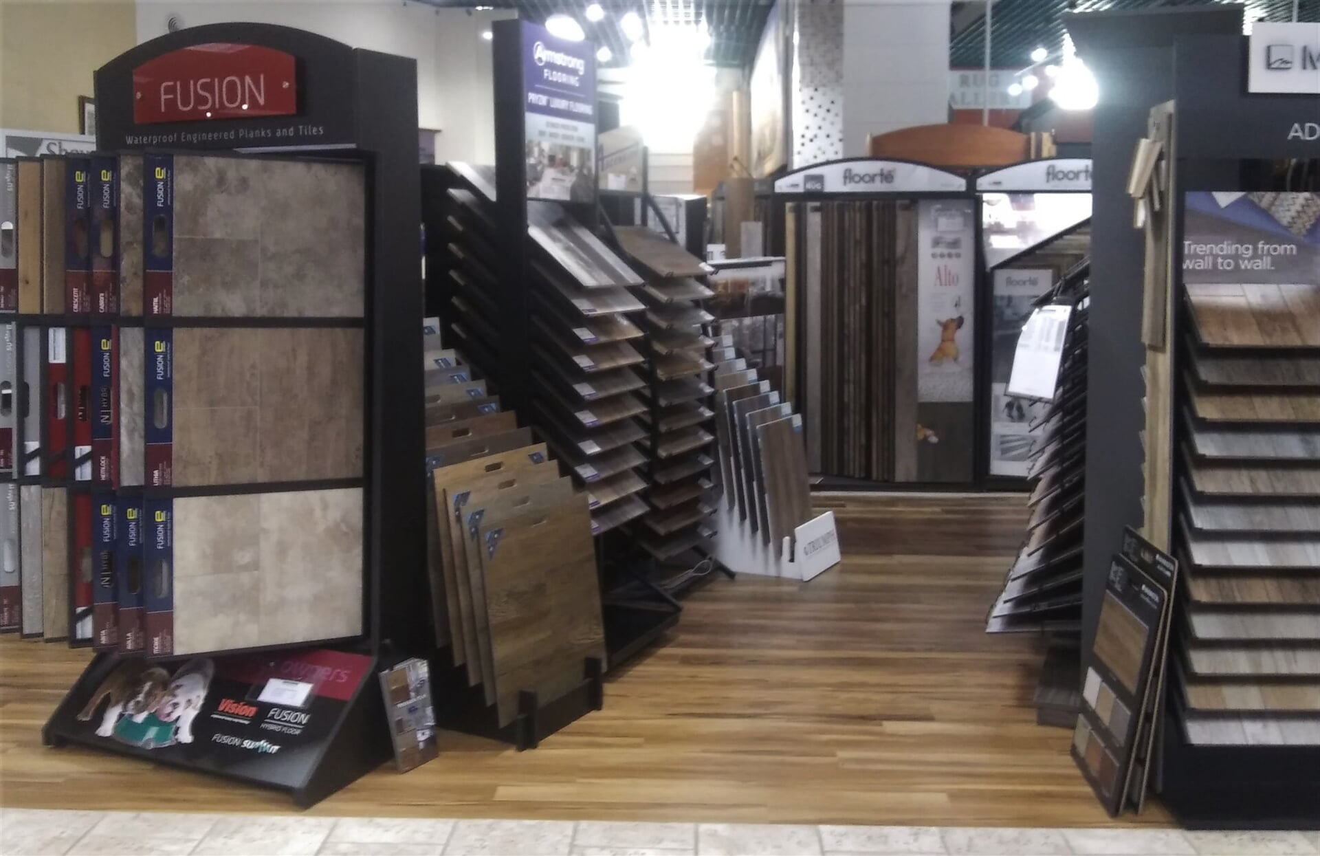 LVT flooring for your Lewisburg, PA home from The Decorating Center