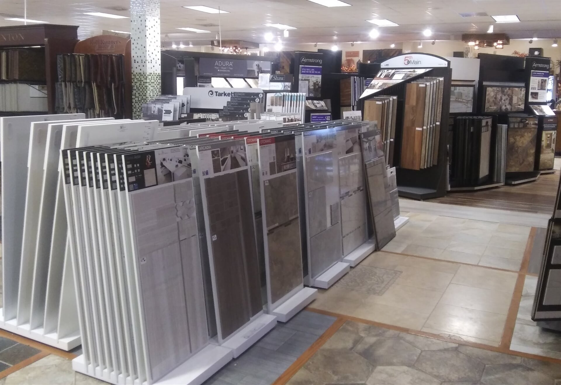 Modern flooring options for your Mifflinburg, PA home from The Decorating Center