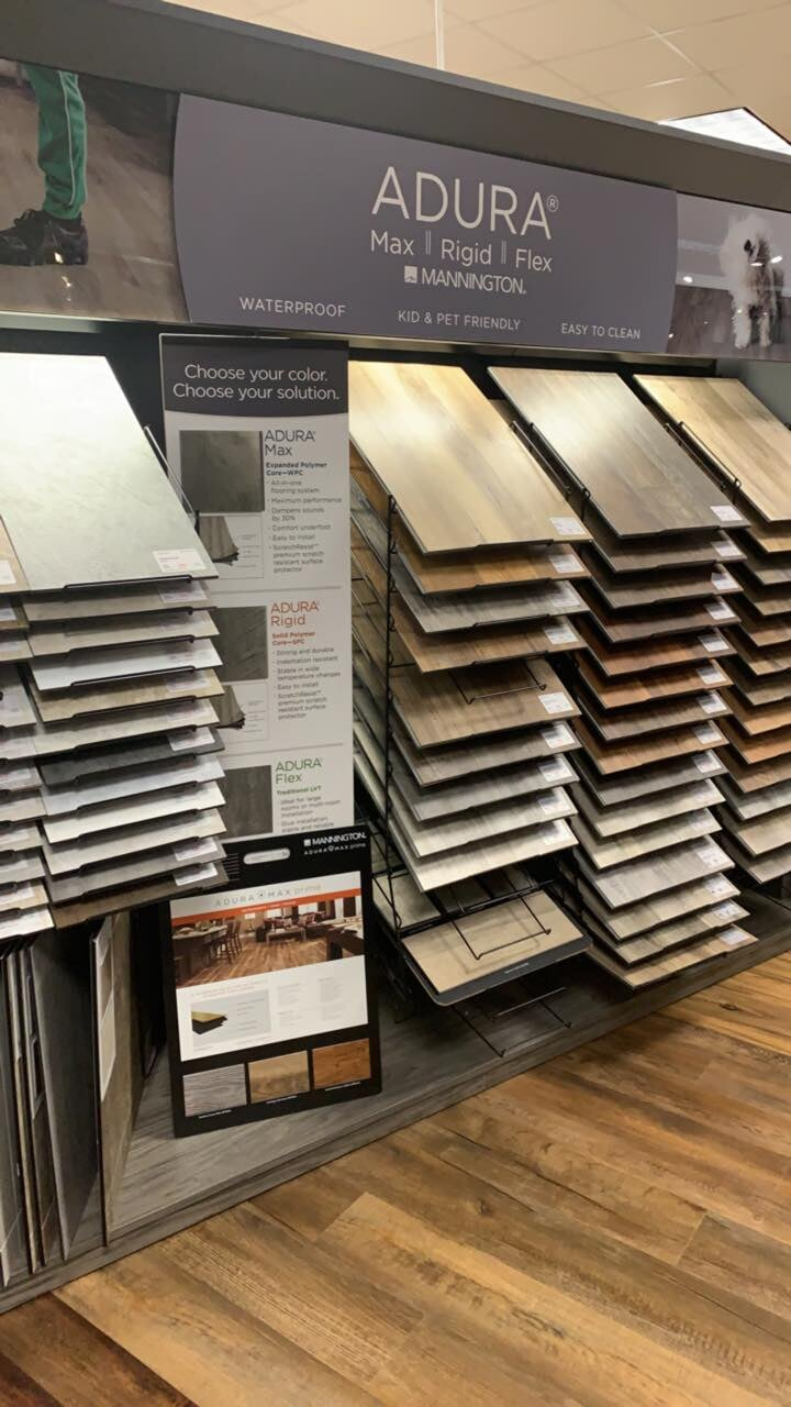 Vinyl plank flooring for your Milton, PA home from The Decorating Center