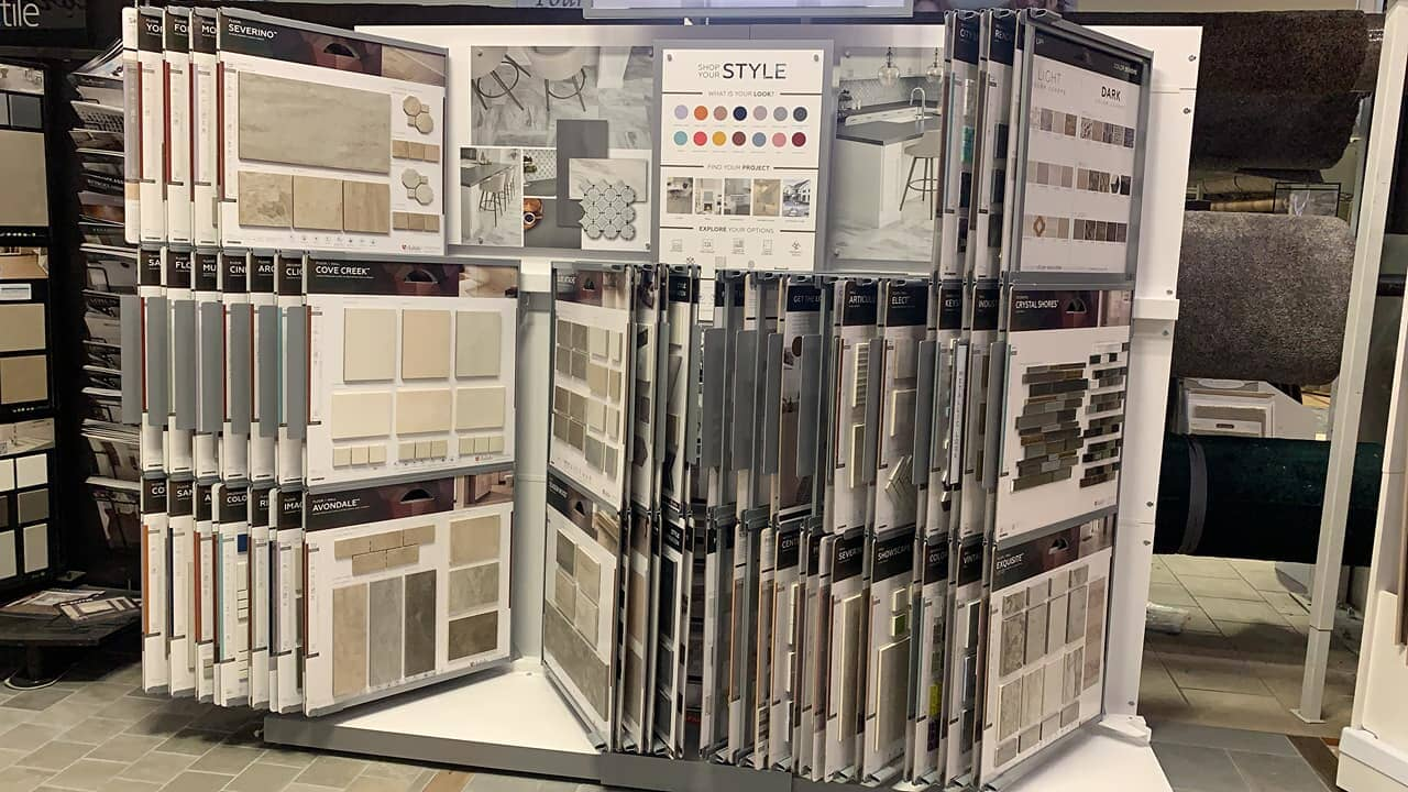 Decorative tile options for your Mifflinburg, PA home from The Decorating Center