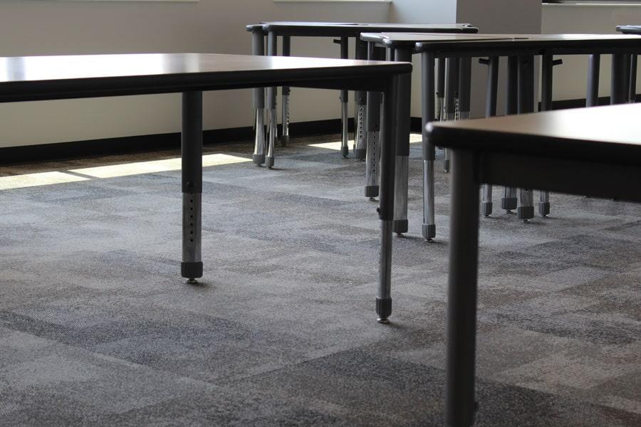 Commercial carpet installation in Carthage, MO from Joplin Floor Designs