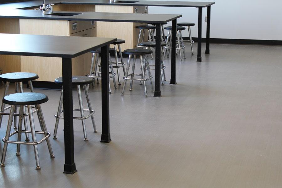 Commercial vinyl flooring in Carl Junction, MO from Joplin Floor Designs