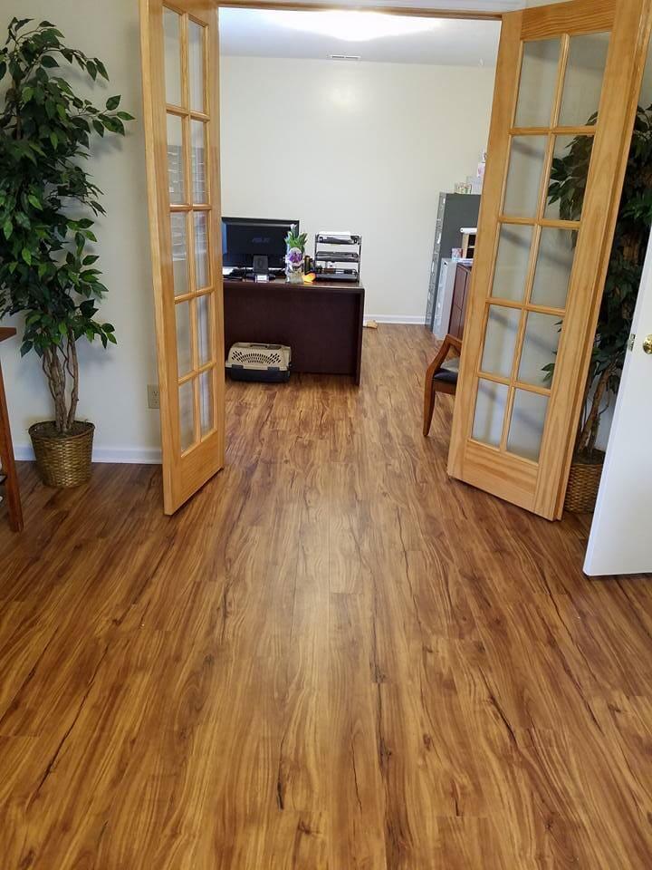 Commercial flooring in Harrisonburg, VA from Strickler Carpet