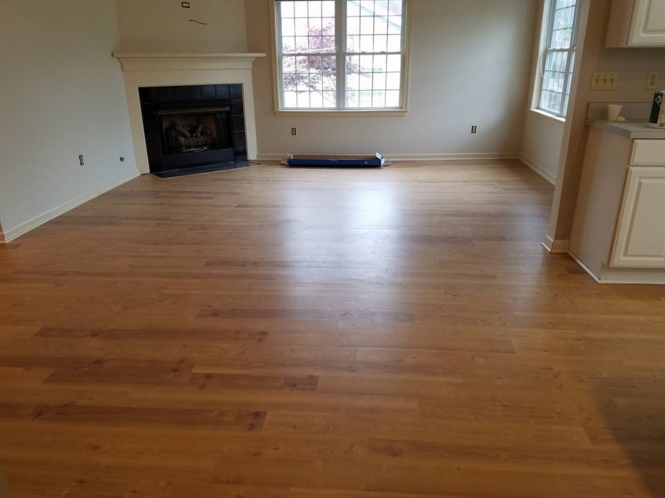 Classic hardwood flooring in Woodstock, VA from Strickler Carpet