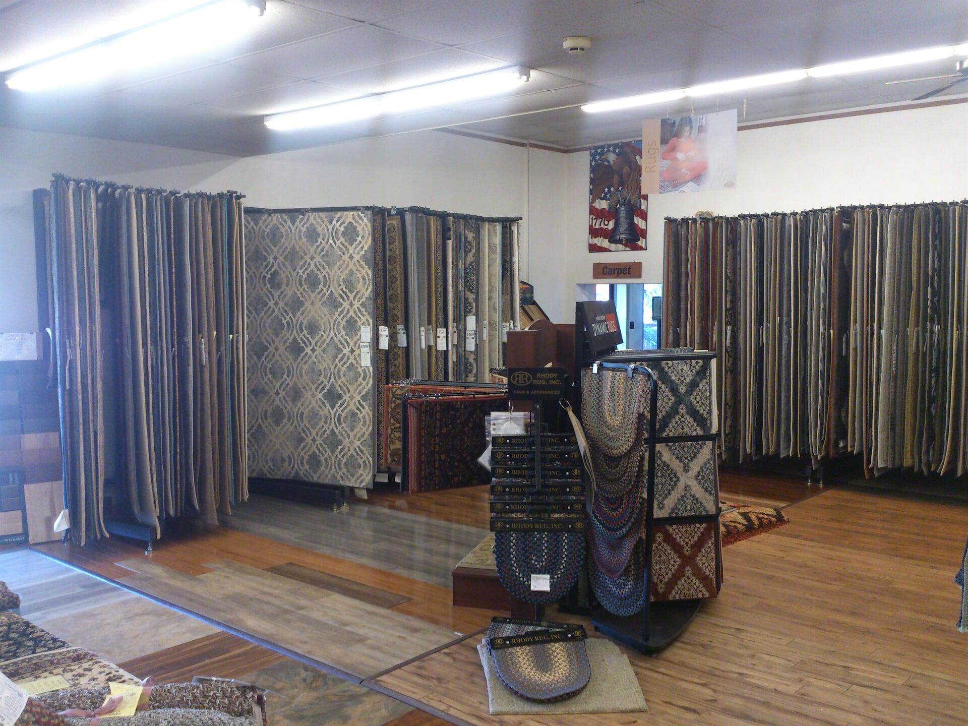 CHARLES F. ZEIGLER SONS showroom near Gettysburg, PA