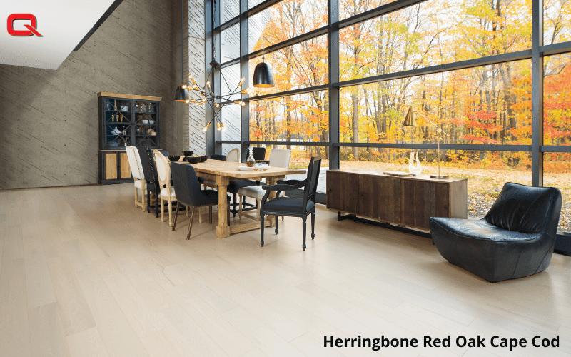 Herringbone Red Oak Cape Cod