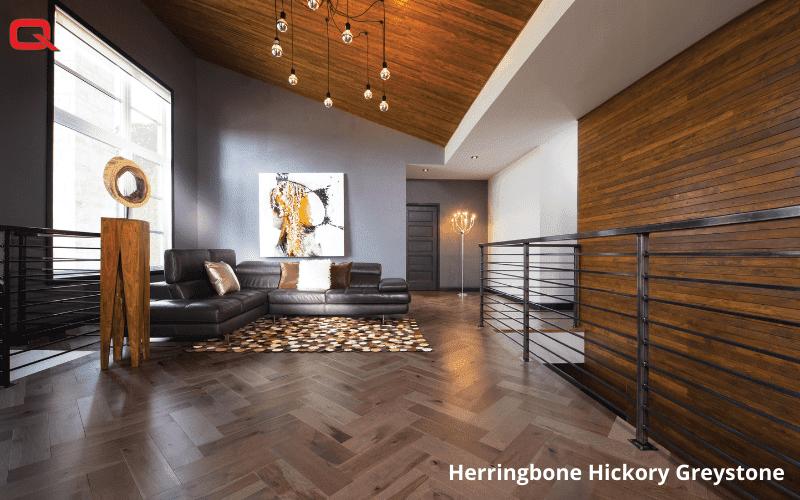 Herringbone Hickory Greystone