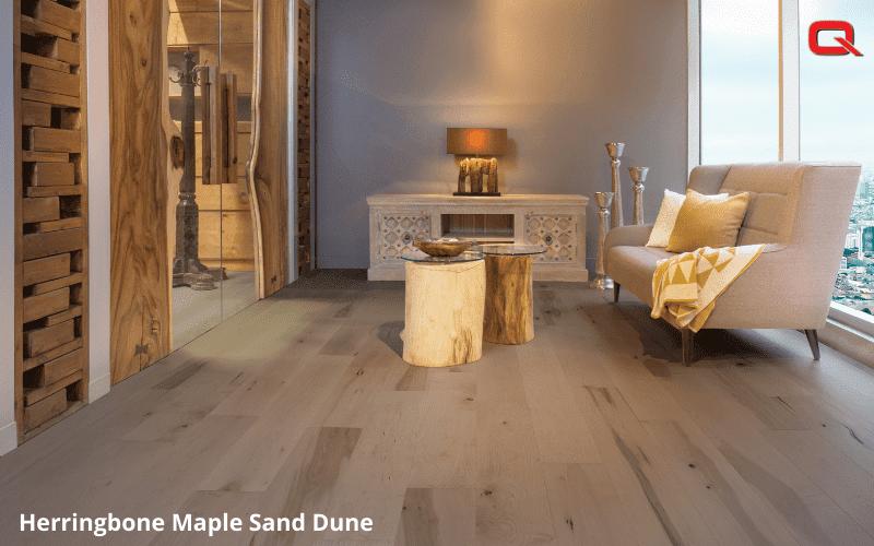 Herringbone Maple Sand Dune