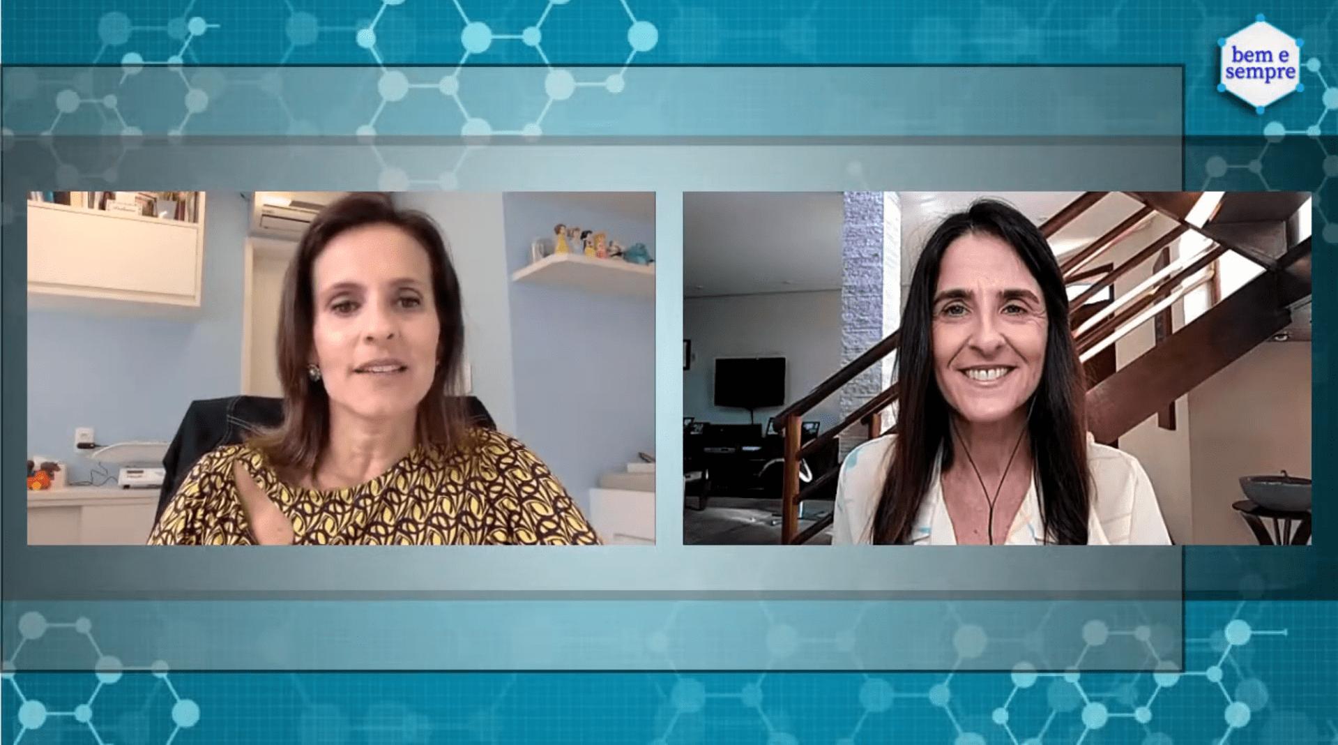 Setembro de 2020 | Dra Elisabeth participou de uma entrevista no canal Bem e Sempre. Tema foi desenvolvimento saudável nas crianças e COVID-19. Quem tiver um tempinho, deem uma olhadinha na entrevista e aproveitem para se inscrever no canal.