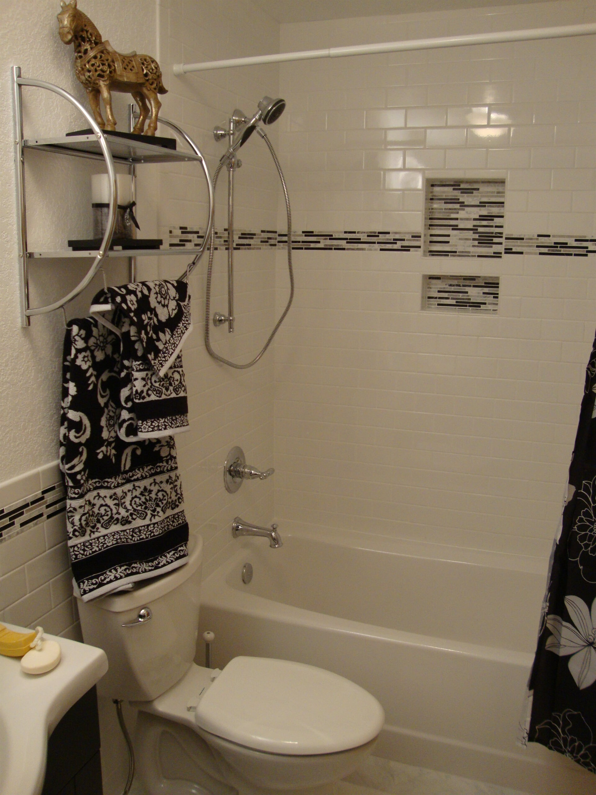 Subway tile shower in Virginia Beach, VA from Floors Unlimited
