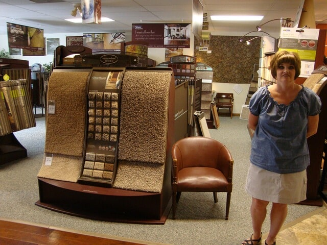Meet Amy here and plan for your Norfolk, VA flooring installation