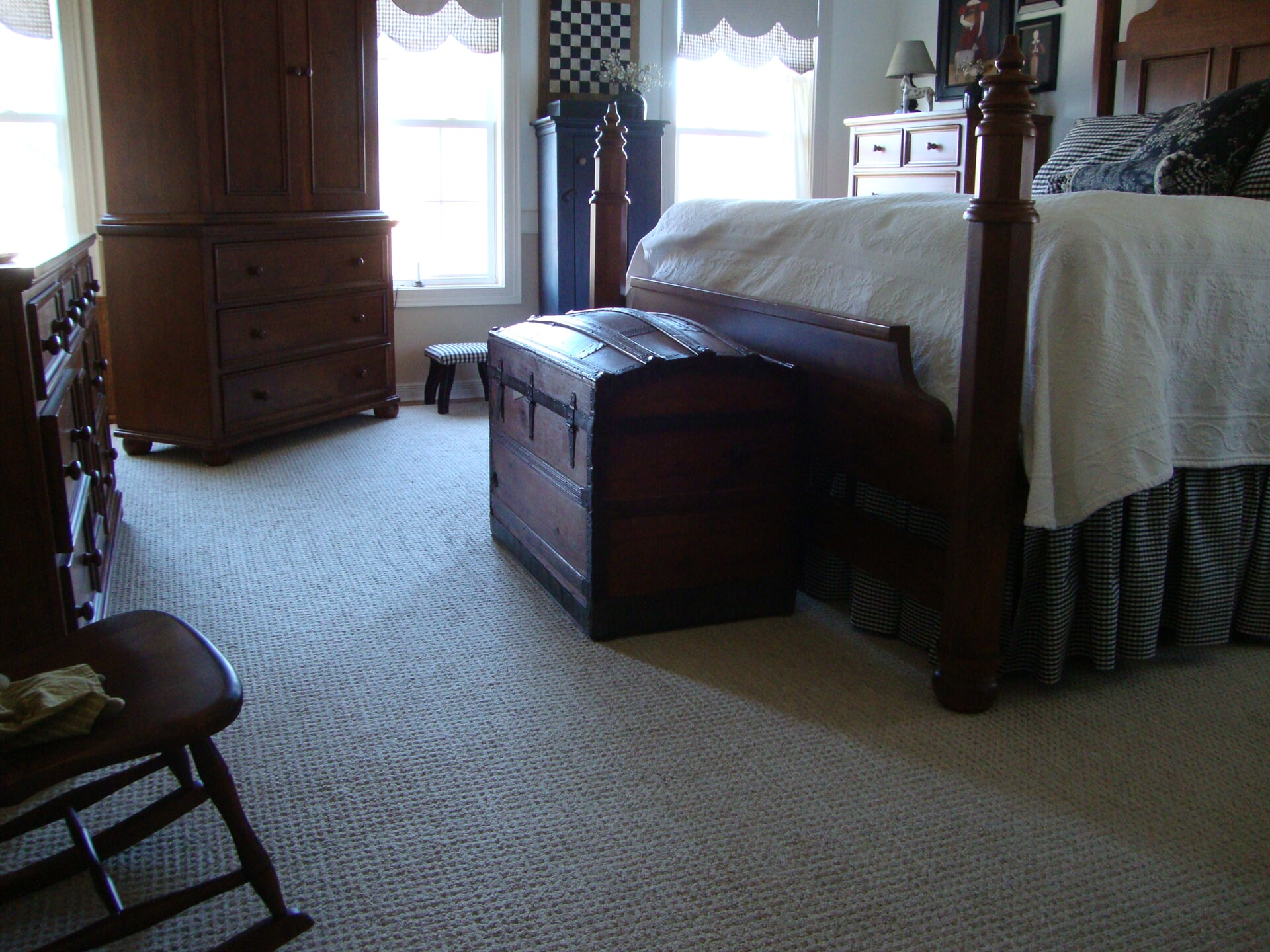 Soft bedroom carpet in Chesapeake, VA from Floors Unlimited