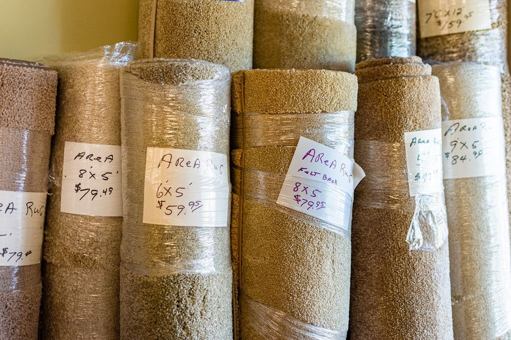Area rugs ready for your Norfolk, VA home from Floors Unlimited