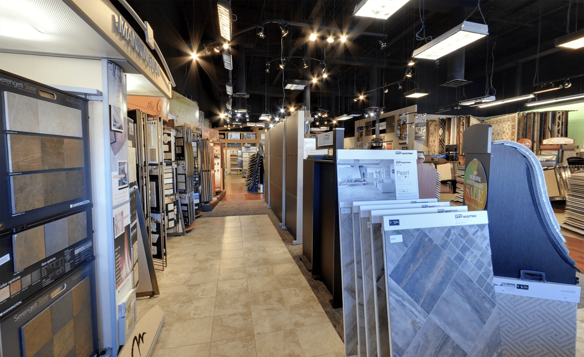 Carpet & Floors Market showroom near Fort Washington, MD