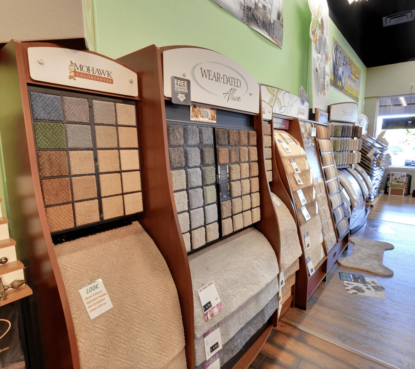 Carpet & Floors Market showroom near Hughesville, MD