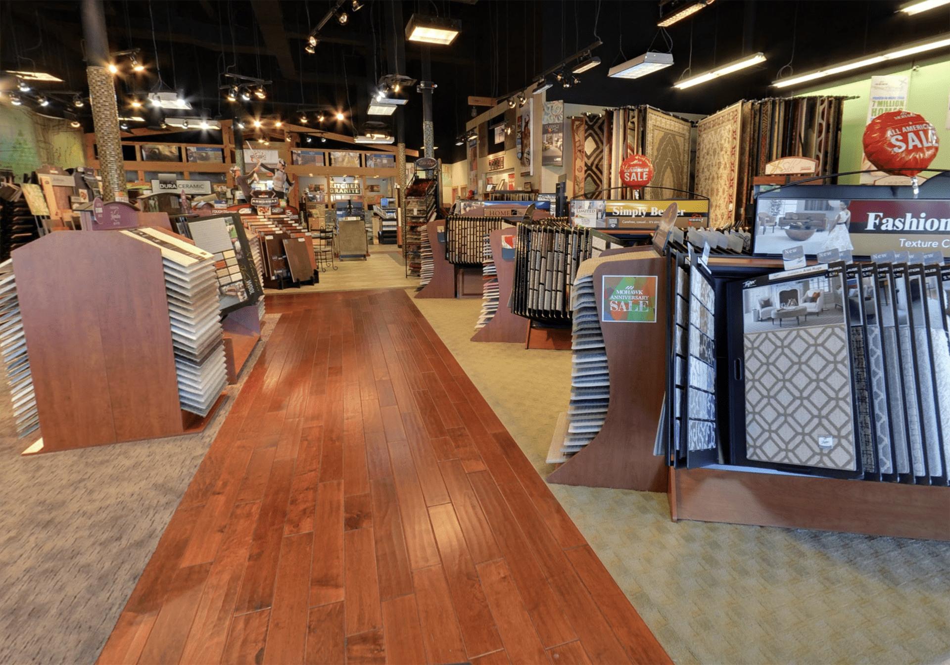 Carpet & Floors Market showroom near White Plains, MD