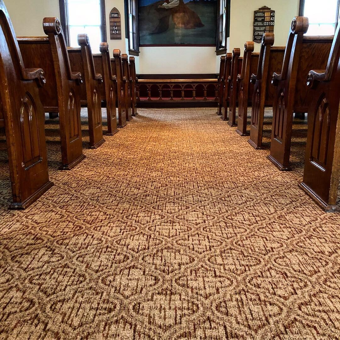 Commercial carpet installation in West Chester, PA from Freedom Flooring