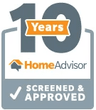 10 Years Home Advisor Screened and Approved