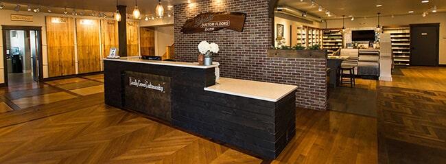 Schmidt Custom Floors showroom in Loveland, CO