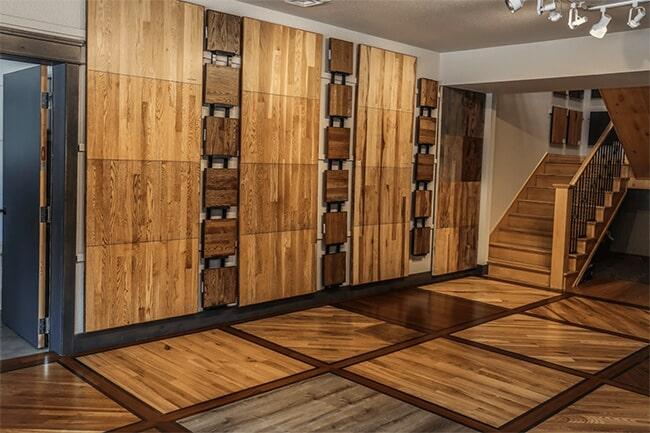 Schmidt Custom Floors showroom in Estes Park, CO