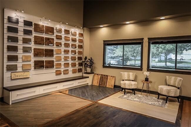 Schmidt Custom Floors showroom in Fort Collins, CO