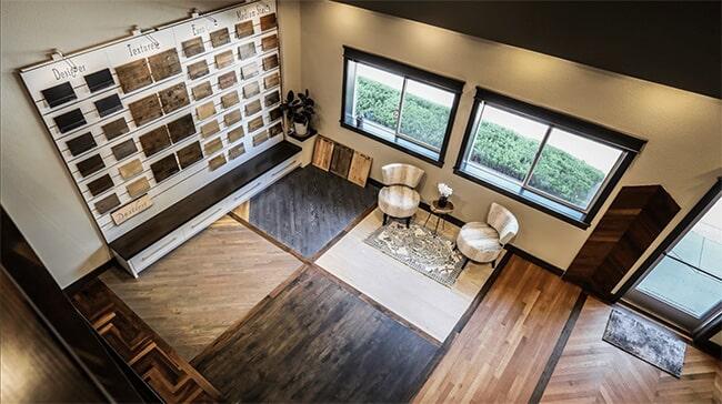 Schmidt Custom Floors showroom in Windsor, CO