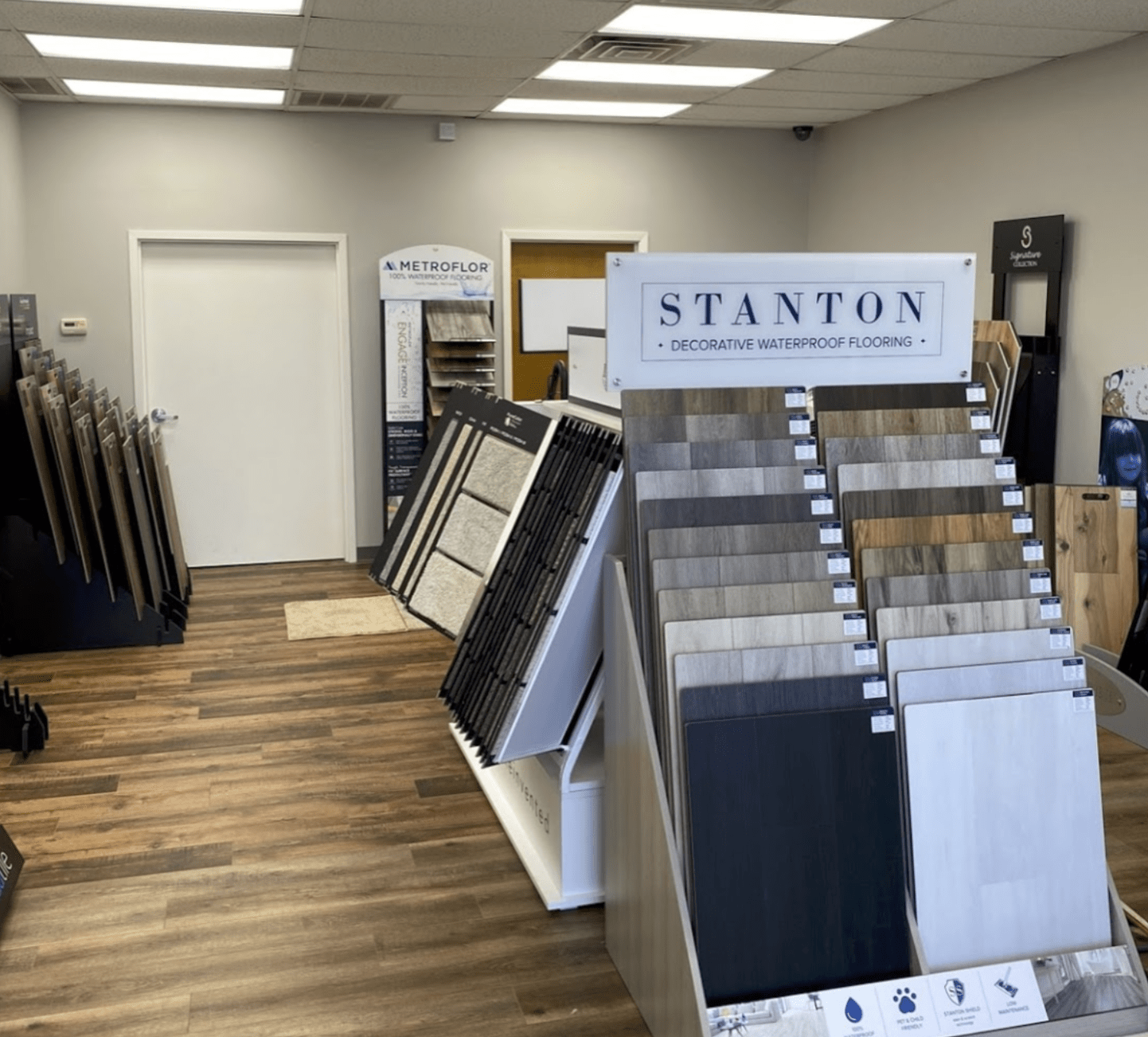 Stanton waterproof flooring for your Hoschton, GA home from White Oak Flooring and Design
