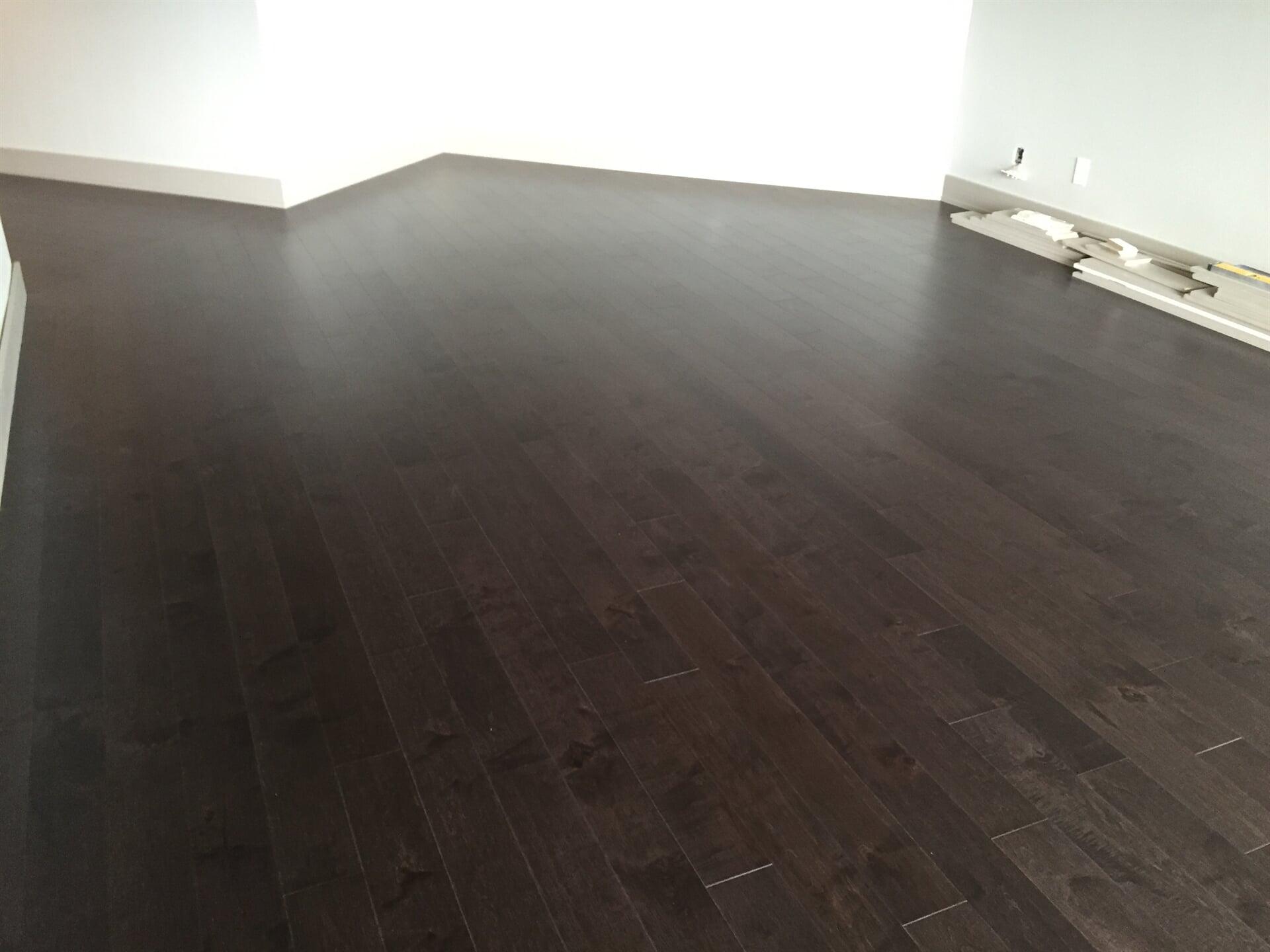 Dark wood-look flooring in Seminole, FL from Floor Depot