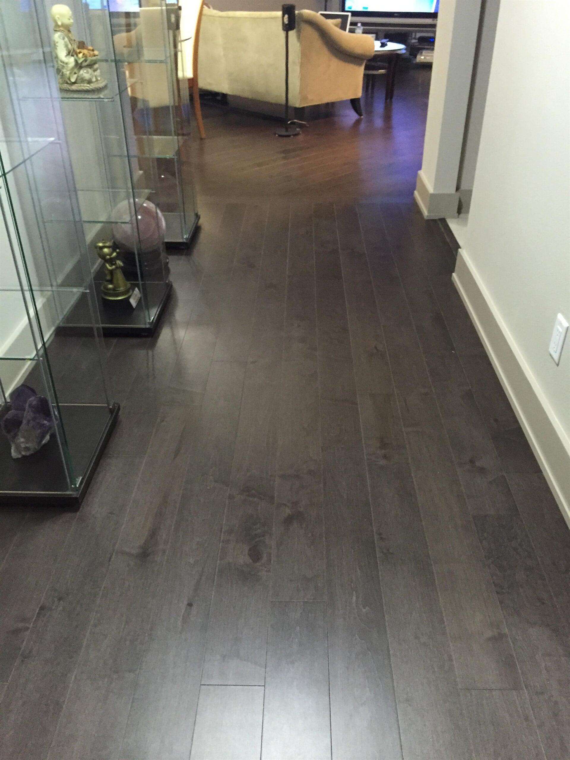 Grey wood look flooring in Clearwater, FL from Floor Depot