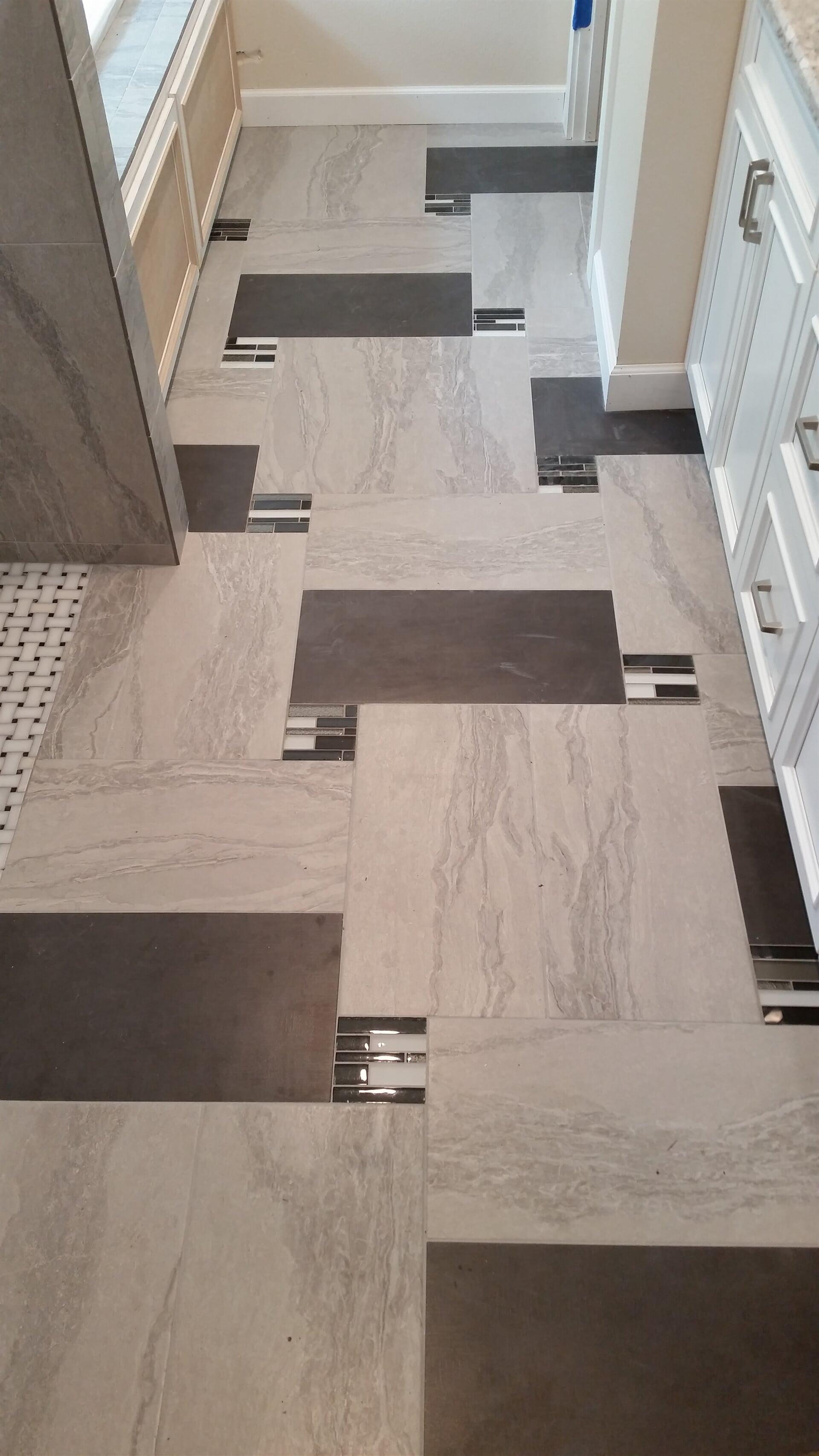 Custom tile flooring design in Dunedin, FL from Floor Depot