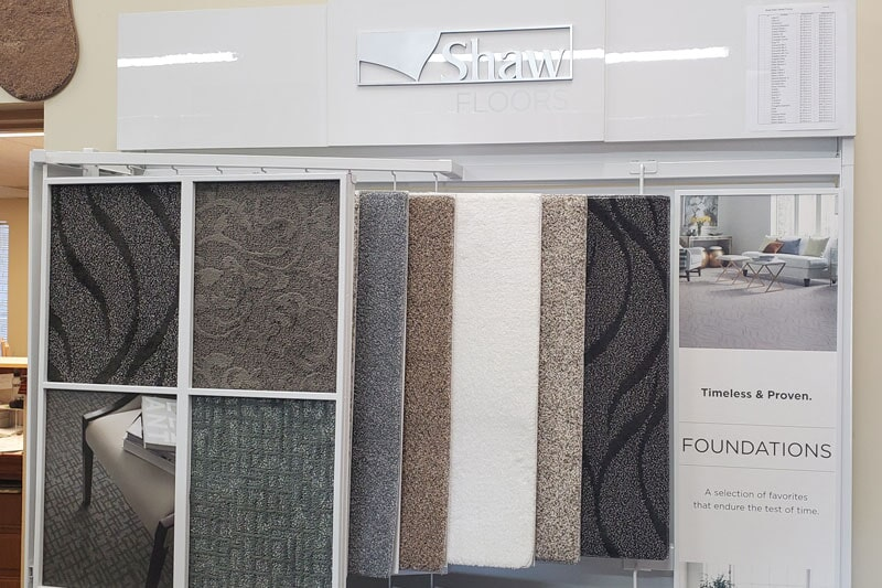 Carpet floors in Warren, MI from the Trudel Flooring showroom