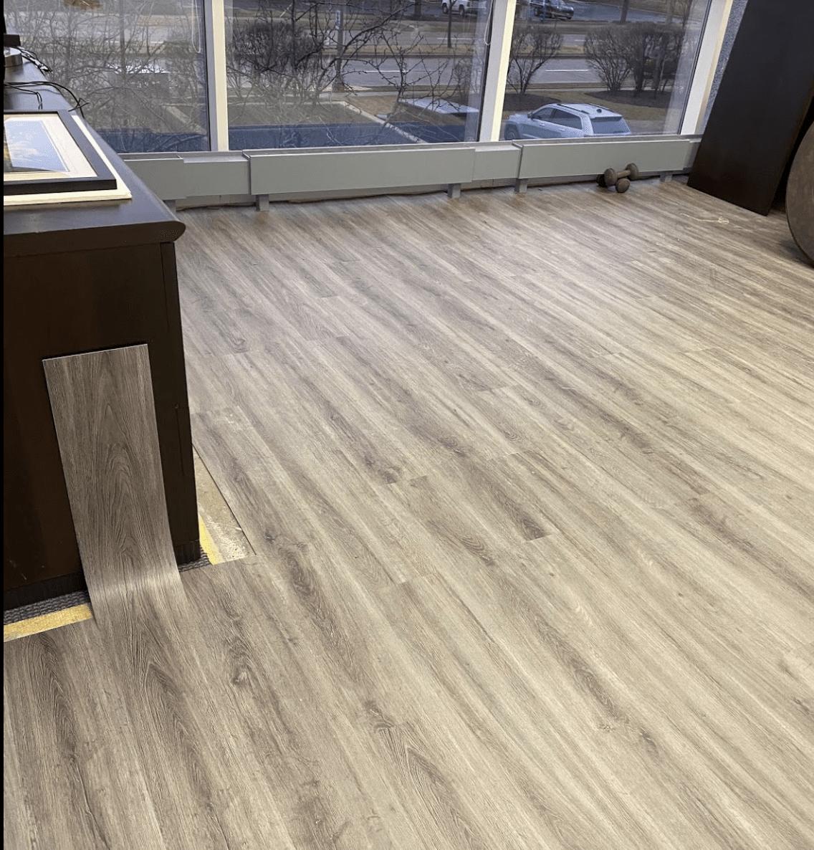 Vinyl flooring installation in Palatine, IL from Alpha Carpet & Flooring