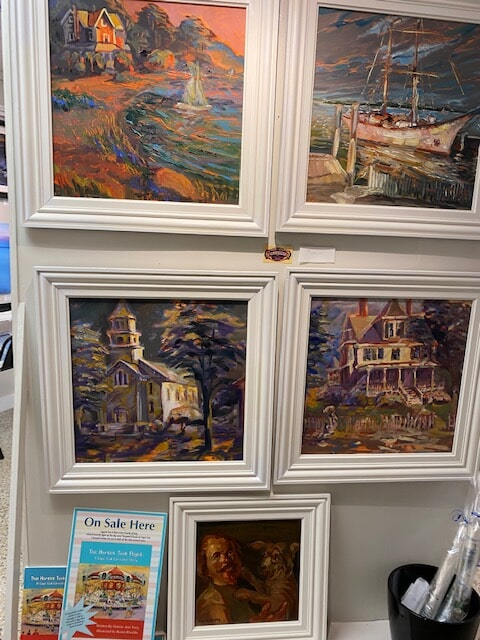 Falmouth Paintings by Lance Shinkle