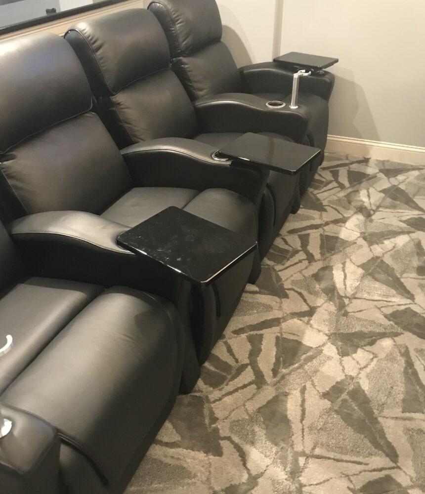 Modern patterned carpet flooring in Cromwell, CT from Custom Floors