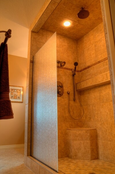 Tile shower in Coaldale, AB from Omega Flooring