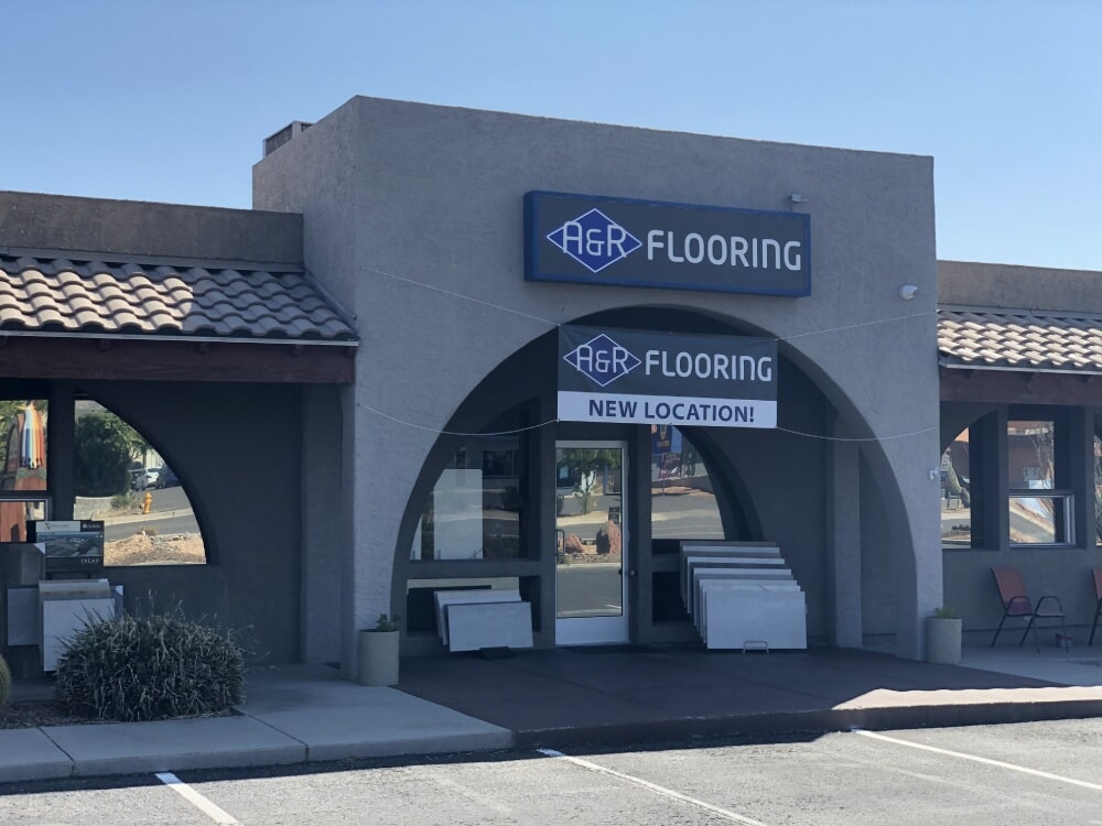 A&R Flooring showroom near Camp Verde, AZ