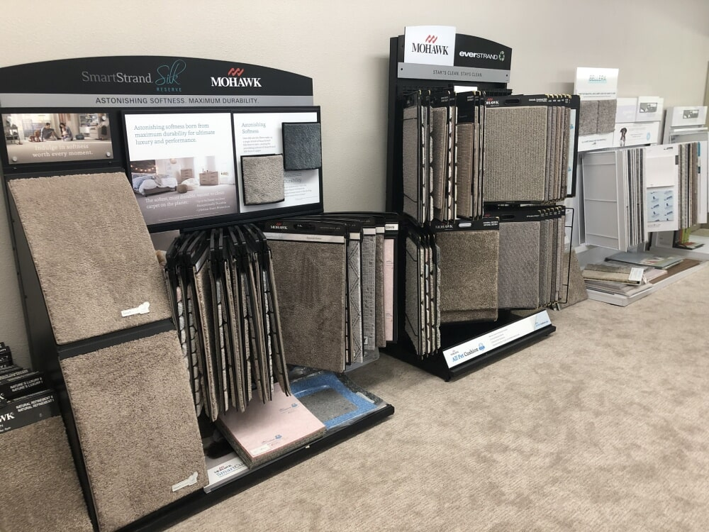 Carpet flooring from the A&R Flooring showroom in Cottonwood, AZ