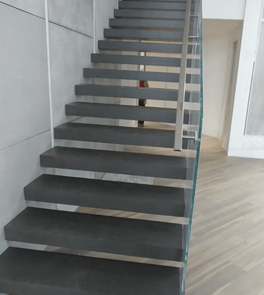 Wood stairs in Fort Lauderdale, FL from Global Wood Floors
