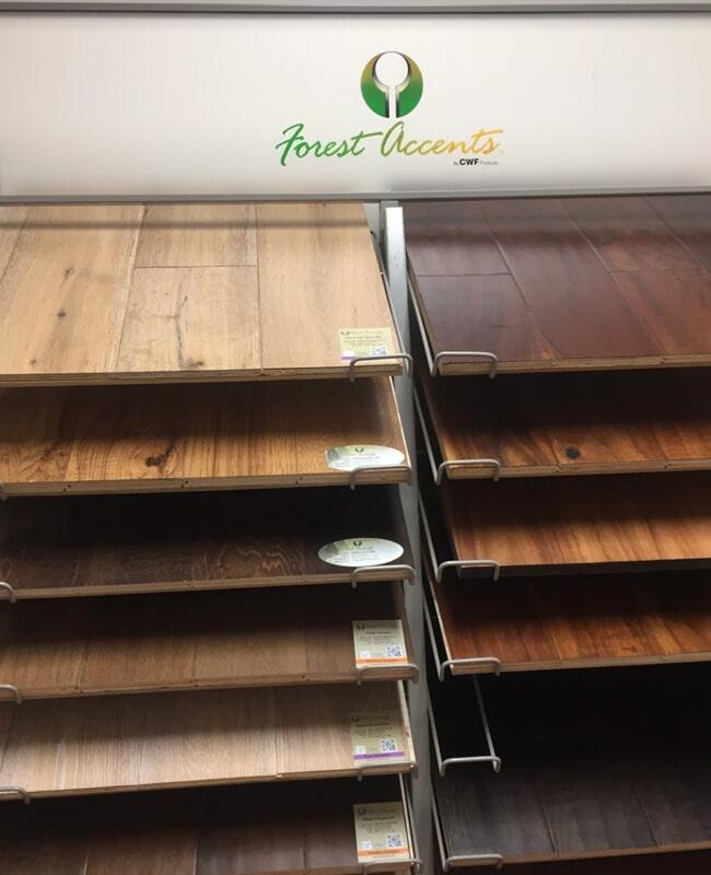 Hardwood flooring in Bradenton, FL from the International Wood Floors showroom