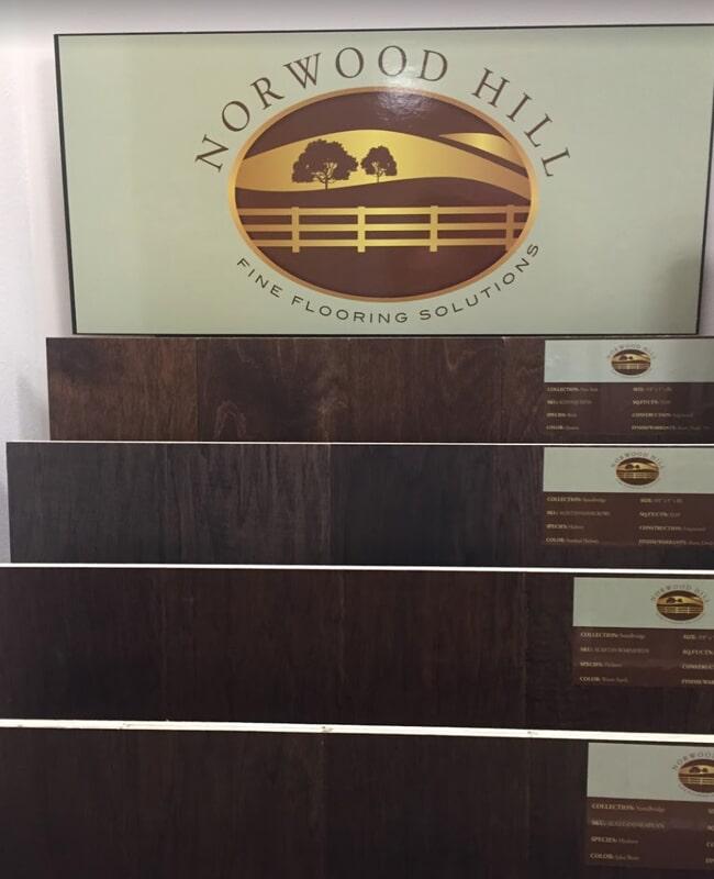 Hardwood flooring in Longboat Key,FL from the International Wood Floors showroom
