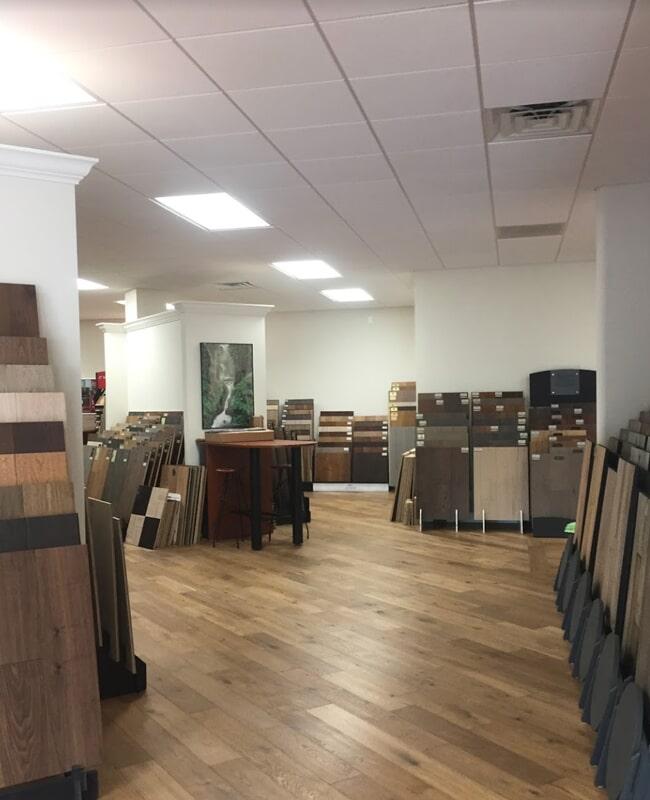 International Wood Floors showroom near Sarasota, FL