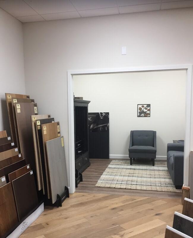 International Wood Floors showroom near Longboat Key,FL