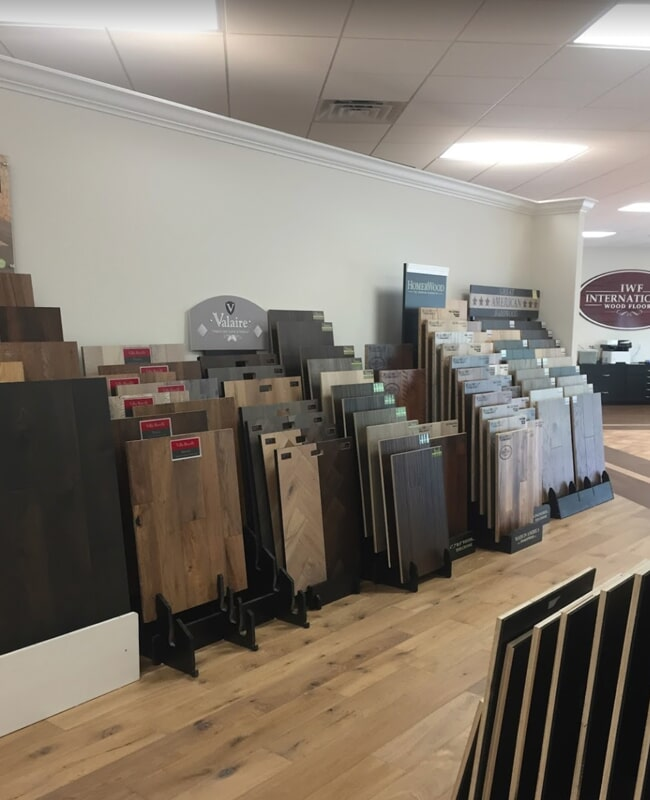 Hardwood in Sarasota, FL from the International Wood Floors showroom