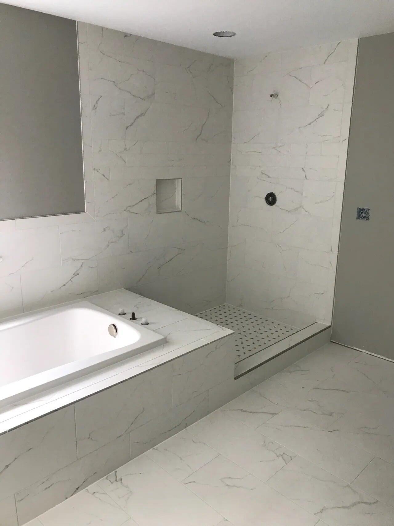 Bathroom tiles in York, PA from Chuck Kraft Carpets