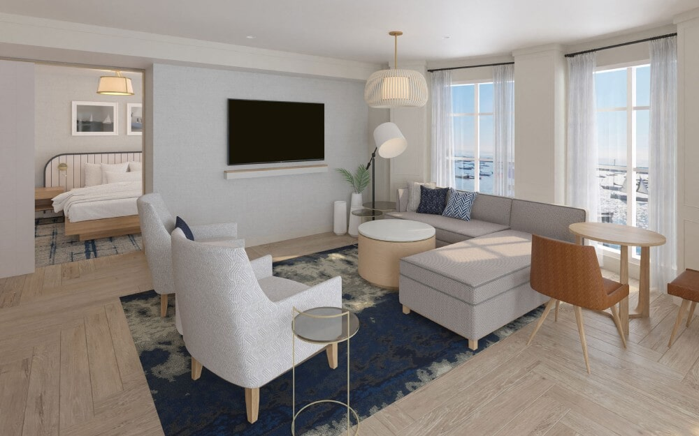 Brenton Hotel Suite in Barnstable, MA from Paramount Rug Company