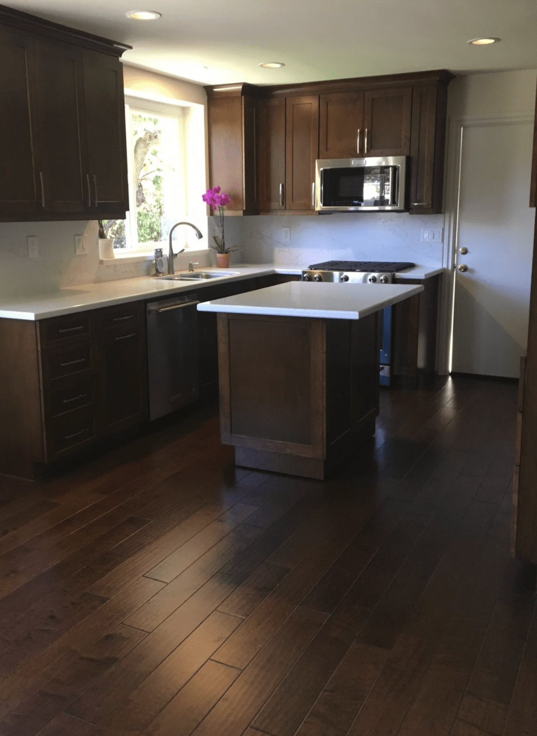 Natural cabinetry in Fullerton, CA from TS Home Design Center / Rite Loom Flooring