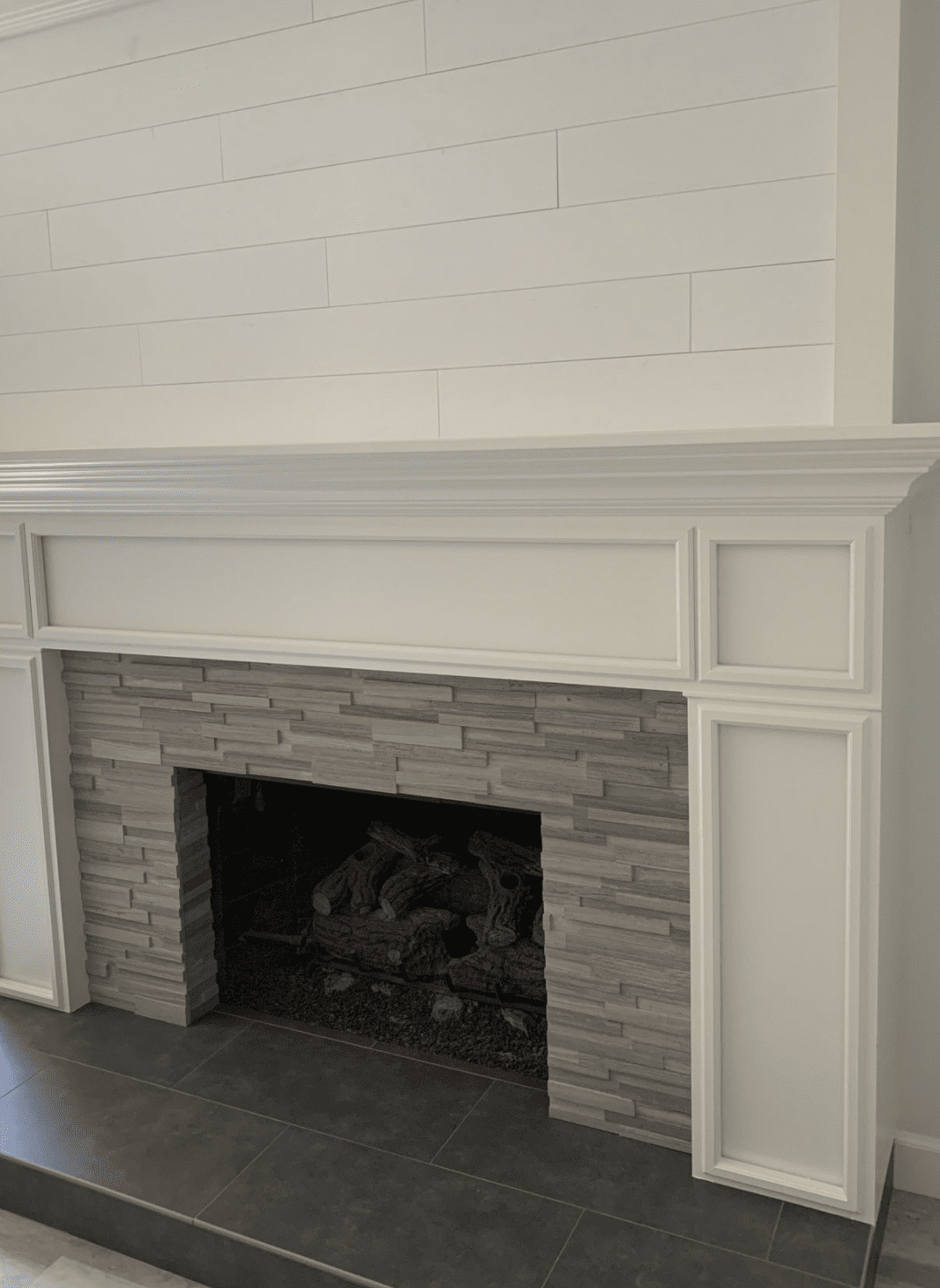 Custom mantle moulding in Anaheim, CA from TS Home Design Center / Rite Loom Flooring