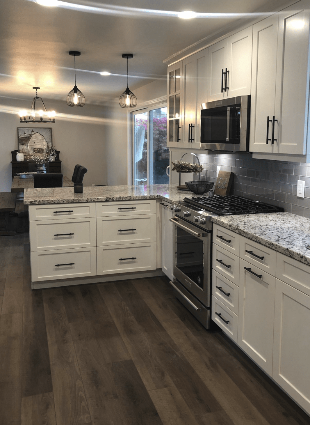 Kitchen remodeling in Fullerton, CA from TS Home Design Center / Rite Loom Flooring