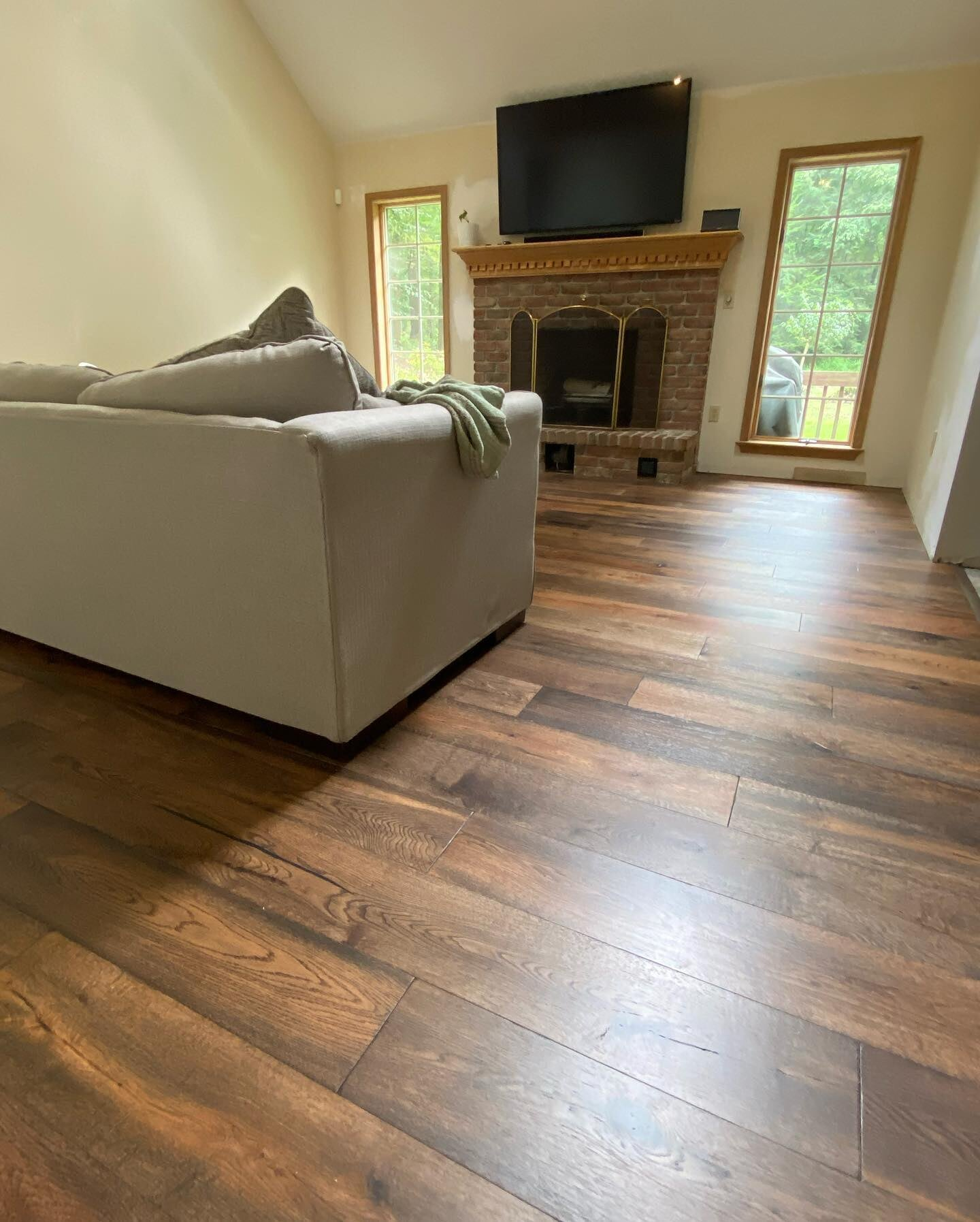 Distressed hardwood flooring in West Chester, PA from Freedom Flooring